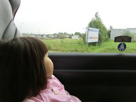 リガ~ビリニュスのバス移動1