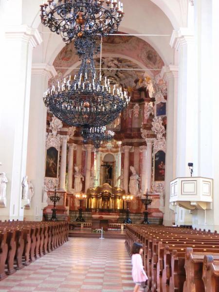 聖ヨハネ教会の鐘楼とヴィリニュス大学15