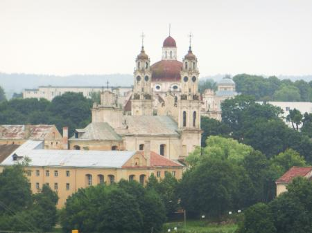 聖ヨハネ教会の鐘楼とヴィリニュス大学11