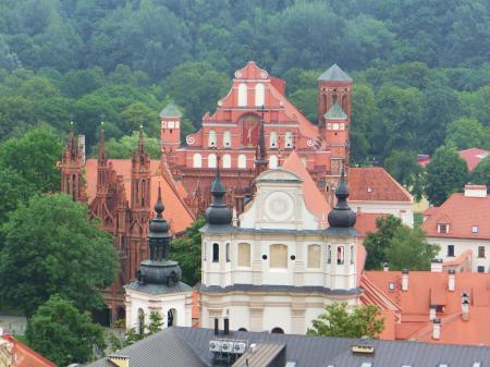 聖ヨハネ教会の鐘楼とヴィリニュス大学12