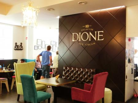 DIONE(リトアニアのアイスクリーム)3