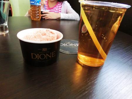 DIONE(リトアニアのアイスクリーム)6