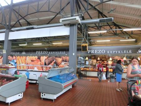 ヴィリニュスのマーケット「ハレス市場」4