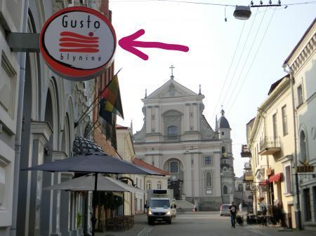 リトアニア・パンケーキレストラン「Gusto Blynine」1