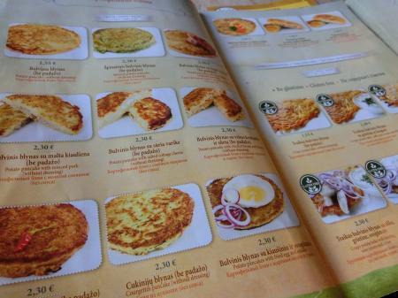 リトアニア・パンケーキレストラン「Gusto Blynine」5