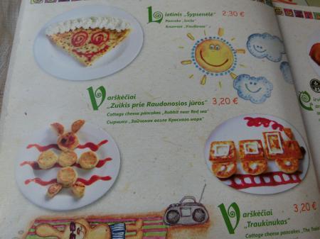 リトアニア・パンケーキレストラン「Gusto Blynine」16