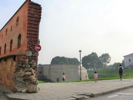 ヴィリニュス 円形城塞1