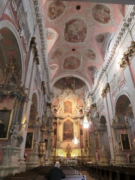 ビリニュス 聖テレサ教会2