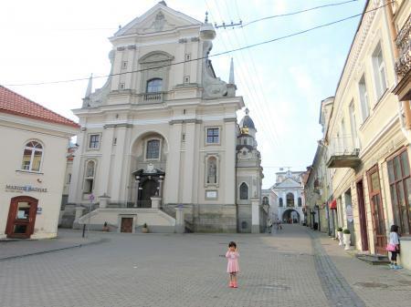 ビリニュス 聖テレサ教会1