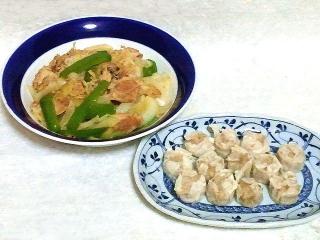 160913_4175野菜炒め・シウマイVGA