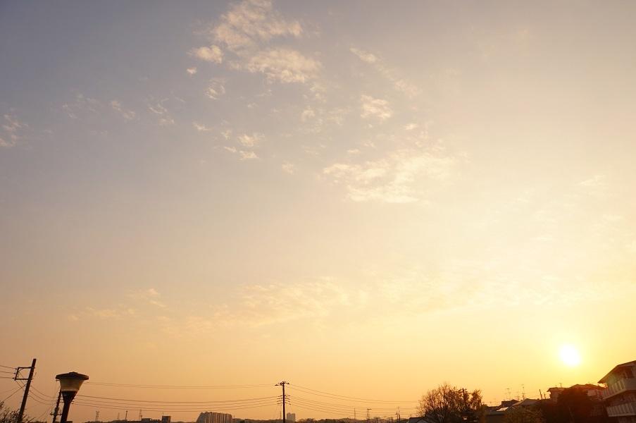 10 餅塚上の空