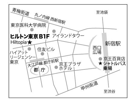 ヒルトピア地図