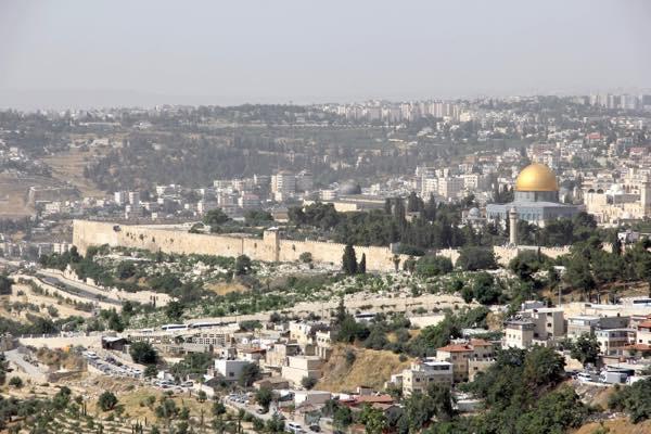 20160615 エルサレム遠望