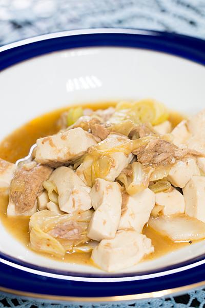 肉なし麻婆豆腐風