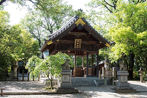 五社宮拝殿