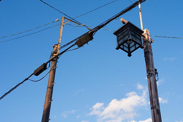 レトロ風街灯