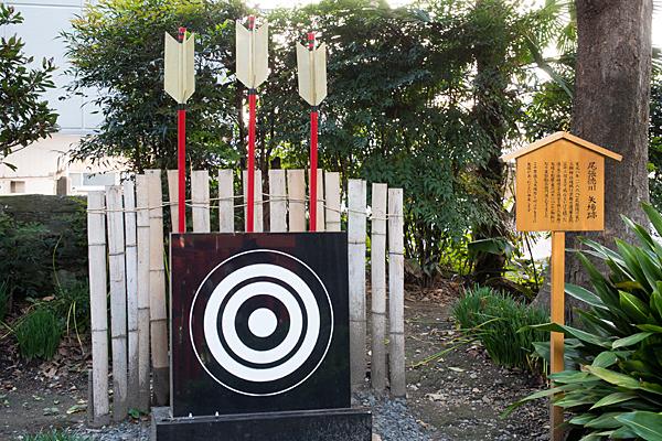 三輪神社矢場跡