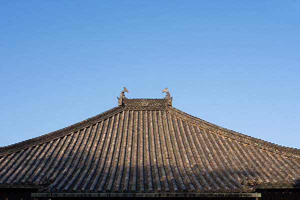 興正寺本堂屋根