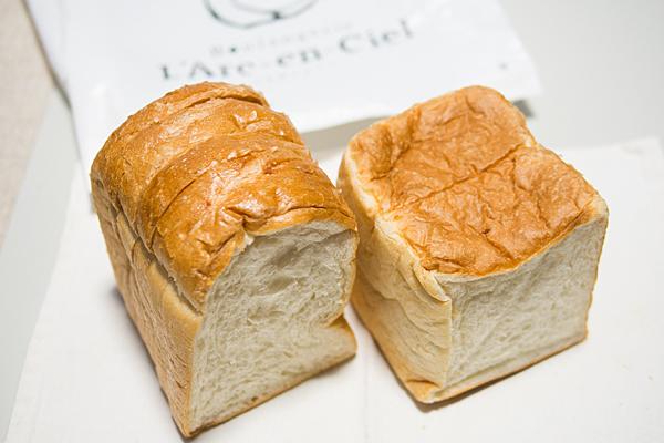 ラルカンシエル食パン