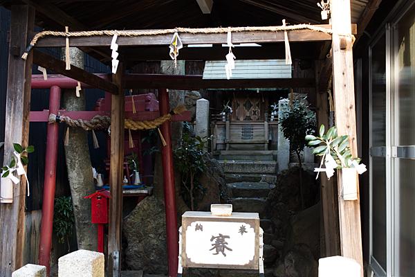 須佐之男神社中之切本殿