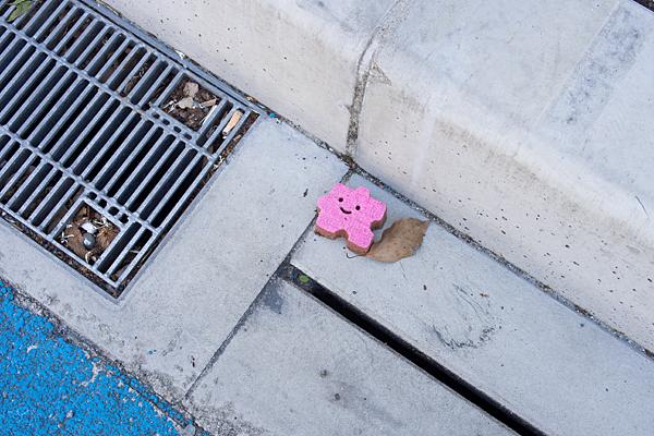 ピンクのスマイル