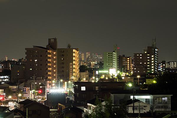 夜の名駅方面