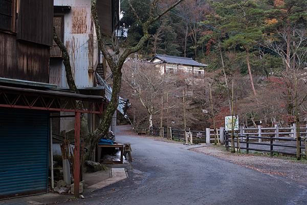 岩屋堂冬景色