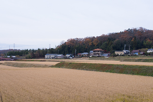 岩屋堂入り口集落の風景