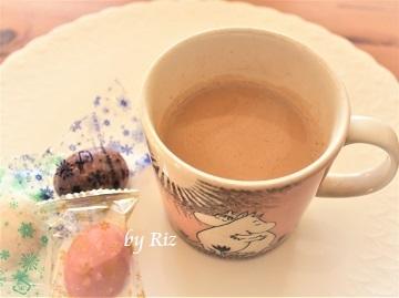 イニックコーヒー スムースアロマで作ったカフェラテ