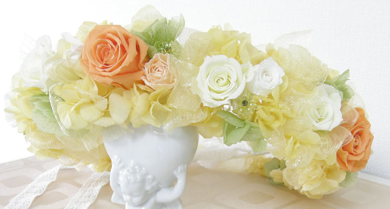 Wedding ・・・ 花かんむり