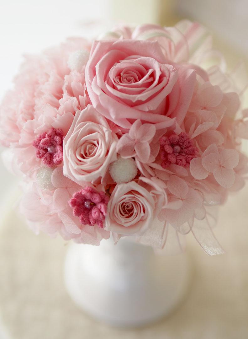 好きな花色のこと・・・ Milky pink