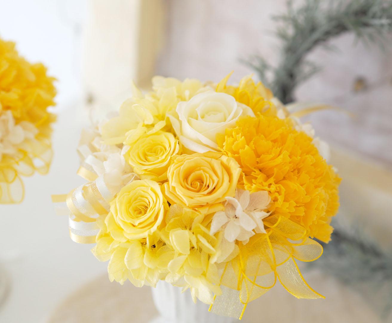 気持ちを明るくしてくれる色 ・・・ Yellow