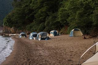 二日目テント