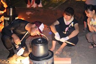 野外炊飯1