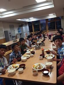 三方夕食2