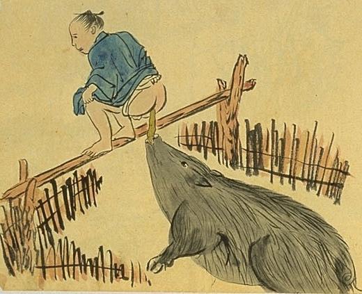 『南島雑話』に描かれた、幕末期の奄美大島における豚便所