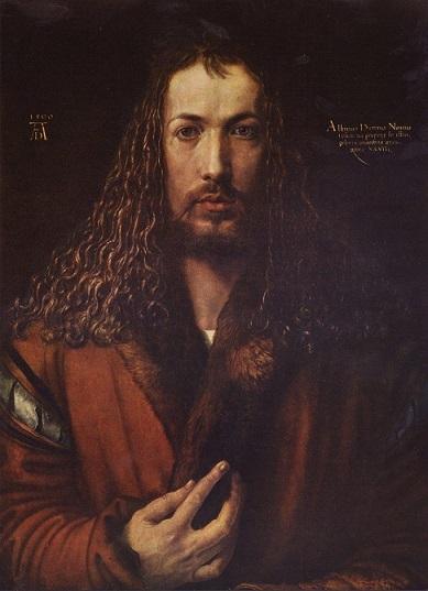 アルブレヒト・デューラー 『自画像』1500年