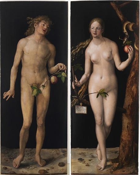 アルブレヒト・デューラー 『アダムとエヴァ』1507年