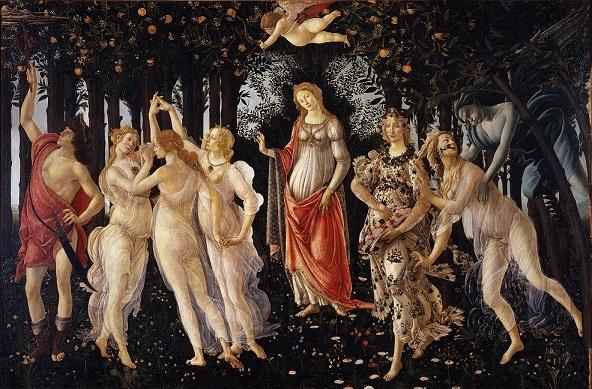 サンドロ・ボッティチェッリの『プリマヴェーラ(春)』