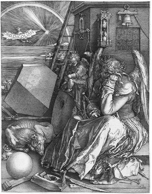 アルブレヒト・デューラー『メランコリア I』1514年