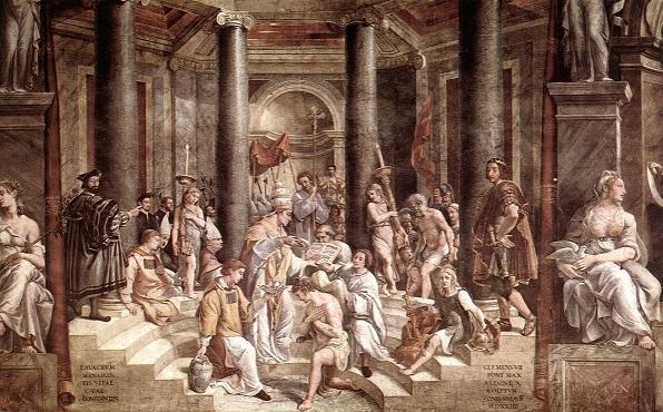 コンスタンティヌスの洗礼