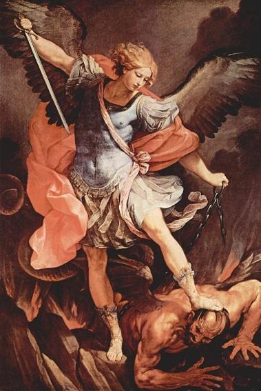 グイド・レーニ『大天使ミカエル 』1636年
