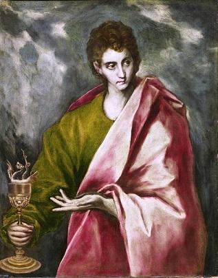 エル・グレコ『使徒ヨハネ』