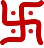 卐はヒンドゥー教におけるシンボルでもある