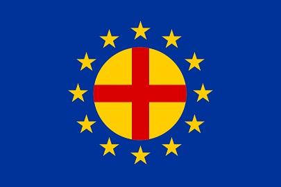 国際汎ヨーロッパ連合の旗