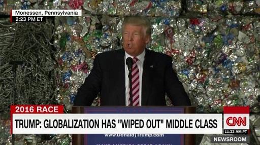 トランプ CNN