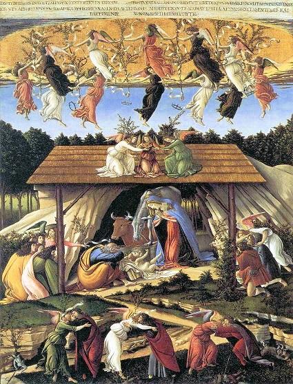 サンドロ・ボッティチェッリ『神秘の降誕』1501年