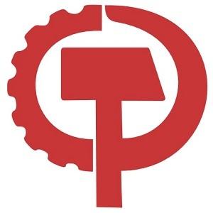 アメリカ共産党 ロゴ