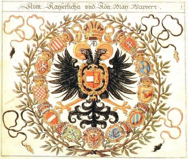 ハプスブルク家の神聖ローマ帝国の紋章