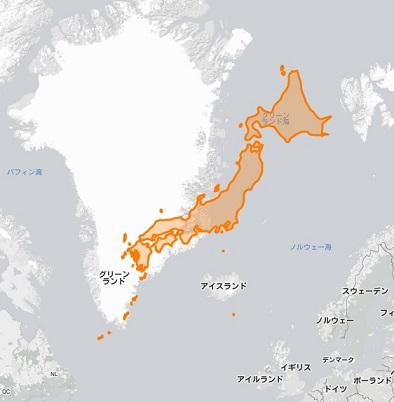 日本 デンマーク 地図